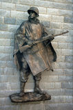 Soldier statue Stock Photo