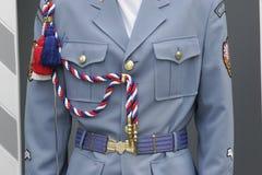 Soldier suit stock photo
