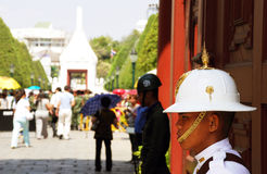 Soldier of Thailand Royal Army at The Royal Palace Stock Photos