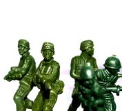 Soldier  toy 12 Stock Images