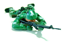 SOLDIER TOY stock images