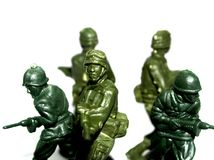 Soldier  toy 5 Royalty Free Stock Images
