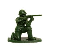 Soldier  toy 8. Group of green army men  / soldier  toy Royalty Free Stock Images