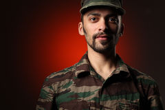 Soldier uniform Royalty Free Stock Photos