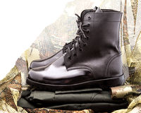 Soldier uniform Stock Photography