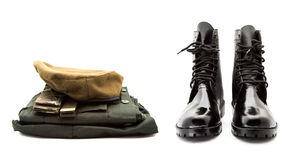Soldier uniform Royalty Free Stock Images