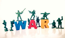 Soldier war Royalty Free Stock Photos