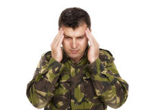 Free Soldier With Hands On Head Stock Photos - 40720943