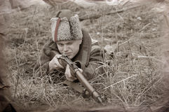 Soldier of WWI Stock Photography