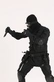 Soldier2. Soldier or Police man in special operations uniform and with weapons Stock Photography