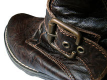 Soldierly shoe stock photography