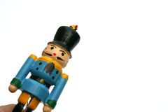 Soldiers. Army of wooden soldiers at Christmas royalty free stock images