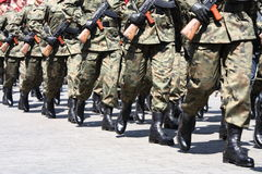 Soldiers Royalty Free Stock Photo