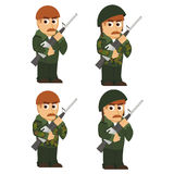 Soldiers Royalty Free Stock Photos