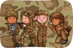 Free Soldiers Stock Photos - 55365333