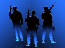 Soldiers Stock Images