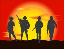 Soldiers Stock Photos