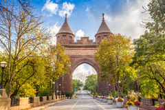 Free Soldiers And Sailors Memorial Arch In Hartford. Stock Photo - 53661280