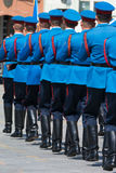 Soldiers in army Parade Royalty Free Stock Images