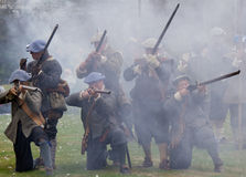 Soldiers in battle Royalty Free Stock Photography