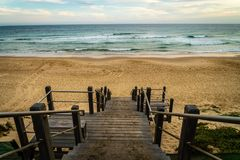 Soldiers beach in Central Coast, New South Wales, Australia stock photography
