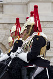 Soldiers from Blues and Royals Cavalry Regiment. Stock Photography