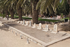 Soldiers graves, Swakopmund, Namibia Royalty Free Stock Photos