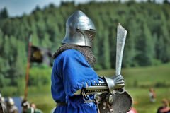 Soldiers of the Middle Ages Stock Photos
