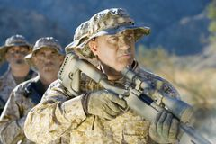 Soldiers On A Mission Stock Image
