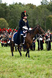 Soldiers of Napoleon's army Royalty Free Stock Images