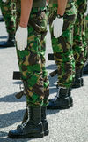 Soldiers in Parade. Soldiers in army Parade, portuguese army Stock Photo