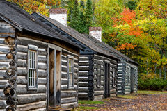 Soldiers quarters, fort wilkins Royalty Free Stock Images