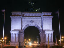 Soldiers and Sailors Arch Grand Army Plaza Stock Image
