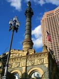 Soldiers and Sailors Monument. In Cleveland, OH Stock Photos
