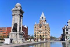Clinton Square, Syracuse, New York Royalty Free Stock Photography