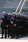 Soldiers of the Serbian police (MUP) elite units royalty free stock photography