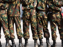 Soldiers   system   rank  people Stock Photography