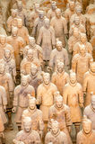 Soldiers. Terracotta Soldiers in Chinese XiAn Royalty Free Stock Photos