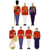 Soldiers of the US Army musicians Royalty Free Stock Photography
