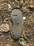 Sole of abandon Royalty Free Stock Image