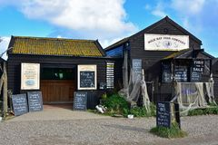 Sole Bay Fish Company Shop, Southwold Harbour, Suffolk, UK