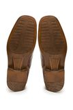 Sole of brown shoe  isolated on the white. Sole of brown shoe isolated on the white Stock Images