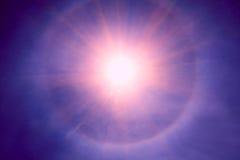 Sole in cielo Immagini Stock Libere da Diritti