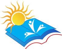 Sole del libro illustrazione vettoriale