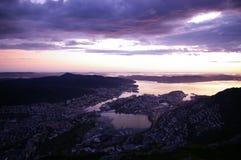 Sole della Norvegia fotografie stock libere da diritti
