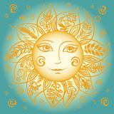 Sole della primavera Illustrazione di Stock