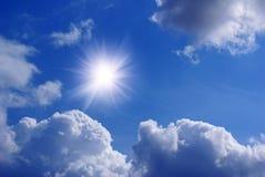 sole delle nubi Immagini Stock