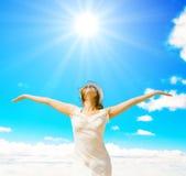 Sole di estate! Fotografia Stock Libera da Diritti
