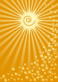 Sole di estate Immagini Stock Libere da Diritti