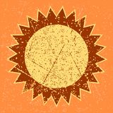 Sole di lerciume Fotografie Stock